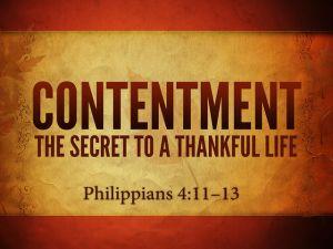 Contentment-Philippians-4
